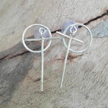OT Shaped Earrings, Dangled & Drop ..