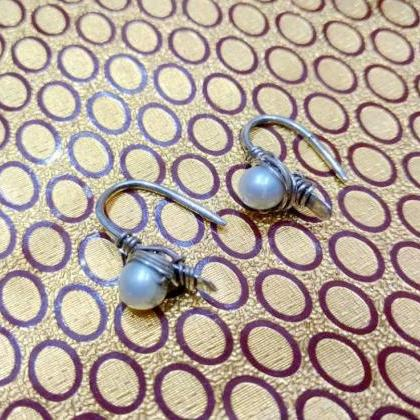 Dangled Pearl Earrings, Bridal Part..