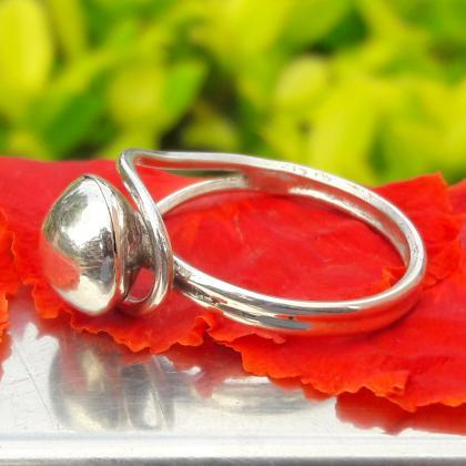 Handmade Sterling Silver Open Ring,..