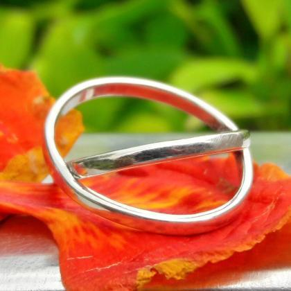 Criss Cross Ring, Sterling Silver R..