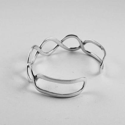 Twisted Ring, Handmade Jewelry, Sil..