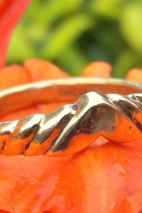 Traditional Style Chevron Ring, 925 Sterling Silver Ring, V-Shaped Ring, Handmade Ring, Gift For Lover