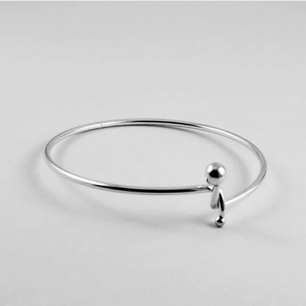 Minimalist Ball Ring, Knot Ring, Thin Ring, Small Ball Jewelry, Bohemian jewelry, Anniversary Gift, Halloween Gift, Women's Style, Gift-able